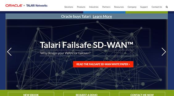 Oracle Talari Networks